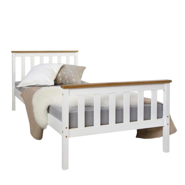 Medium Size of Homestyle4u 1842 Massivholz Bett Betten Ohne Kopfteil Jugend Selber Machen Günstig Kaufen Mit Beleuchtung Kopfteile Für 140x220 Wickelbrett 90x200 Weiß Bett Bett Weiß 90x200