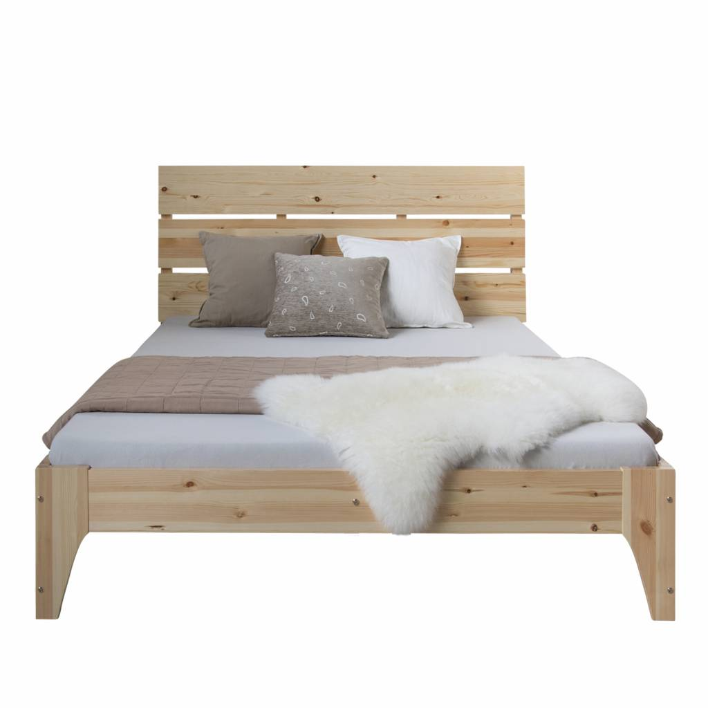 Full Size of Doppel Bett Holz 140 Massivholzmbel Bei Moebelshop68de Günstige Betten 140x200 2x2m 200x200 Weiß Sonoma Eiche 160x200 Tagesdecke Landhausstil Wildeiche Bett Bett Holz
