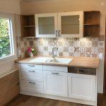 Landhausküche Küche Landhausküche Moderne Weisse Gebraucht Weiß Grau