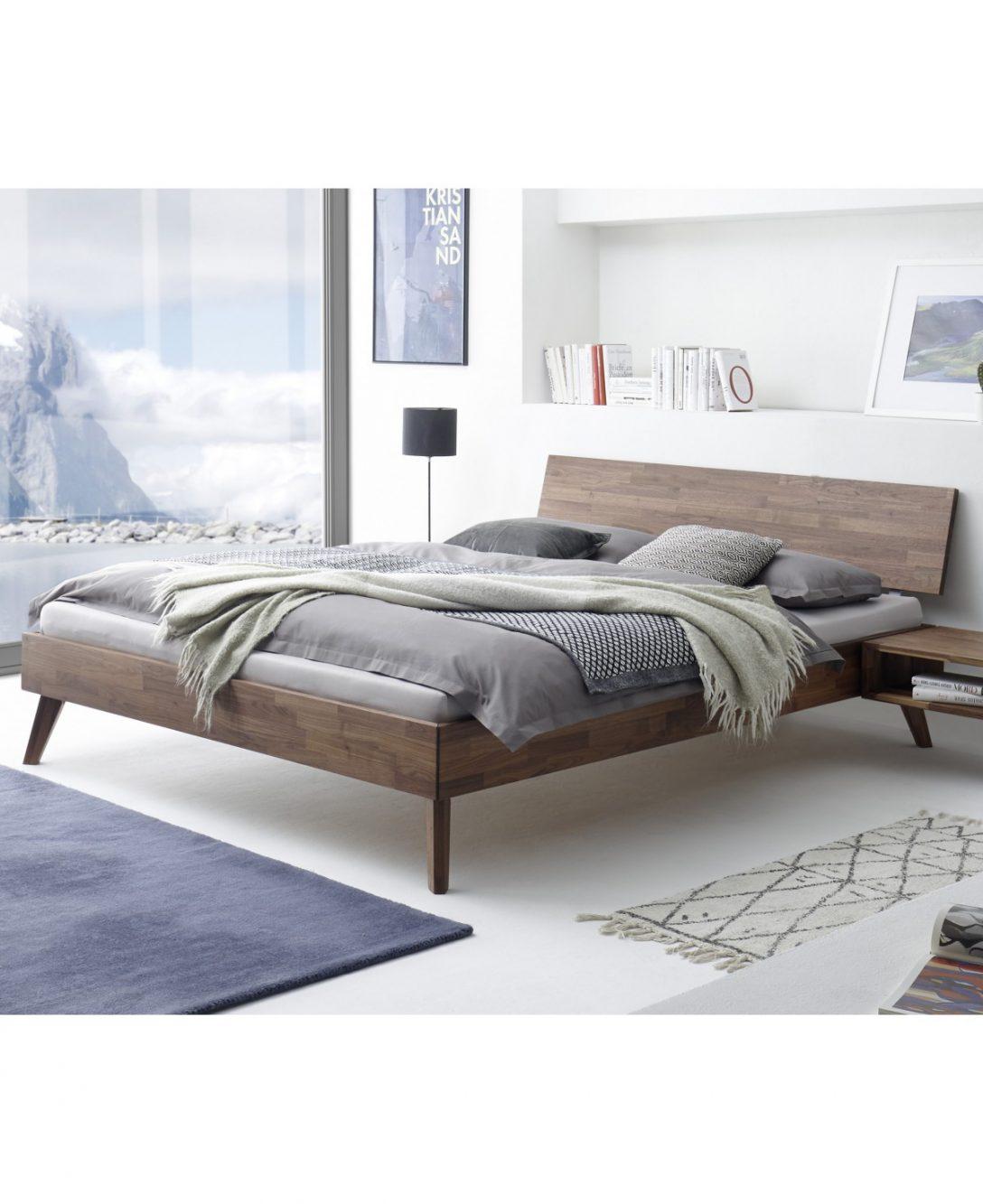 Large Size of Hasena Fine Line Bett Ancona Nussbaum Massiv 160x200 Betten Günstig Kaufen 180x200 140x200 Nolte Günstige Flexa Mit Schubladen Luxus Lattenrost 200x200 Bett Betten 160x200