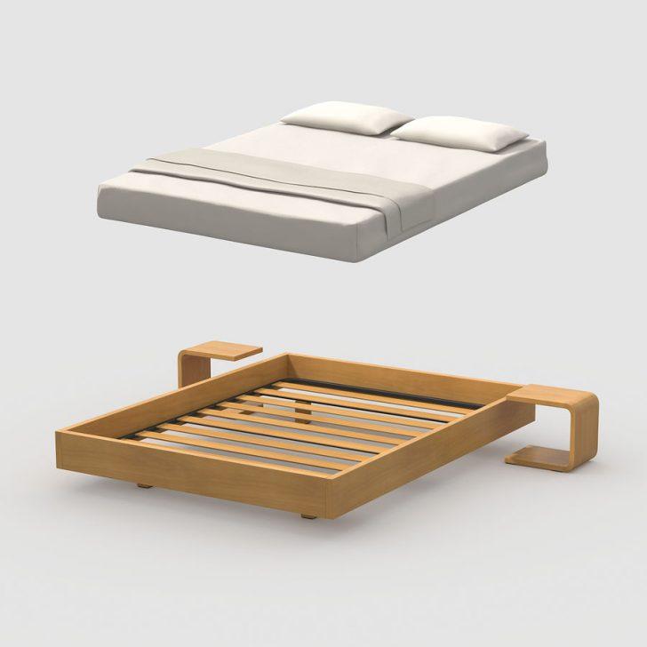 Medium Size of Einfaches Bett Eiche 3d Modell 4 Mafb3ds 180x200 Günstig Rauch Betten Sitzbank Rückwand Stauraum Mit Matratze Und Lattenrost 140x200 Weiß Lifetime Tojo V Bett Einfaches Bett