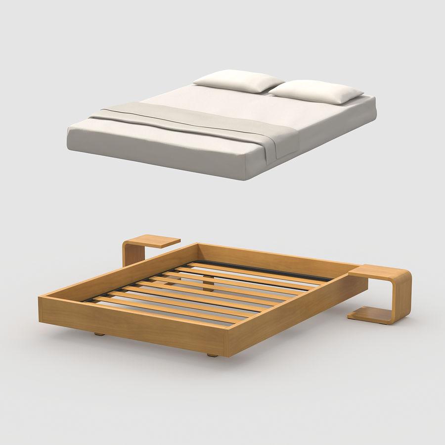 Full Size of Einfaches Bett Eiche 3d Modell 4 Mafb3ds 180x200 Günstig Rauch Betten Sitzbank Rückwand Stauraum Mit Matratze Und Lattenrost 140x200 Weiß Lifetime Tojo V Bett Einfaches Bett
