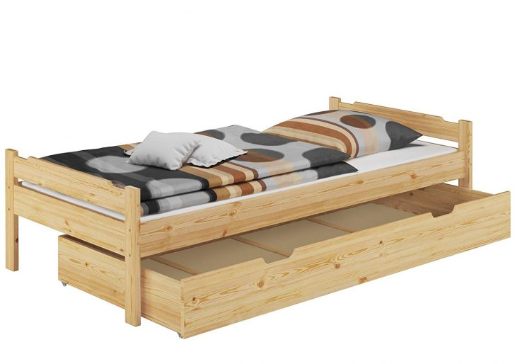 Medium Size of Erst Holz Bett 80x200 Einzelbett Jugenbett Kiefer Natur Rollrost Amerikanisches Weiß 160x200 Selber Zusammenstellen Günstige Betten 180x200 Hülsta Ruf Bett Bett 80x200