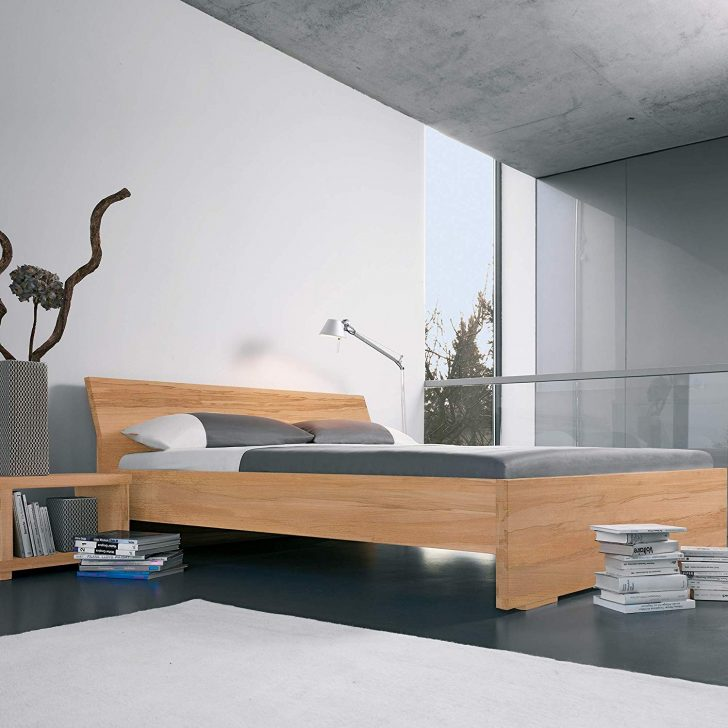 Medium Size of Dormiente Bett Massivholzbett Adana 140x200 Cm Eiche Amazonde Kingsize Flach Mit Gästebett Zum Ausziehen Weiß 160x200 Komplett Barock Günstige Betten Bett Dormiente Bett