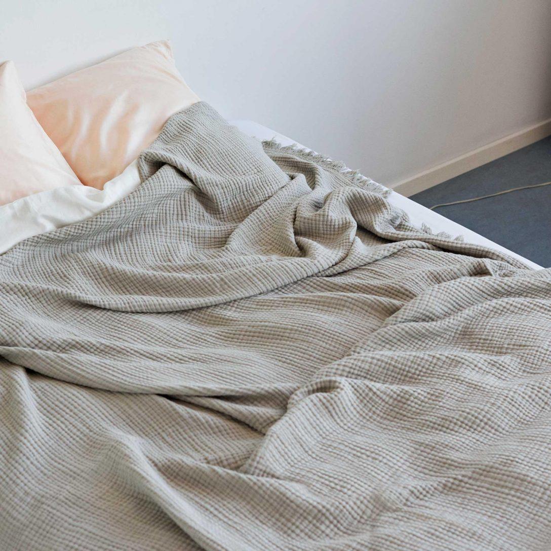 Large Size of Tagesdecke Bett Hay Crinkle Bettberwurf 270x270cm Ambientedirect 200x200 Mit Bettkasten Chesterfield Prinzessinen Stabiles 220 X 120x200 Romantisches Billige Bett Tagesdecke Bett