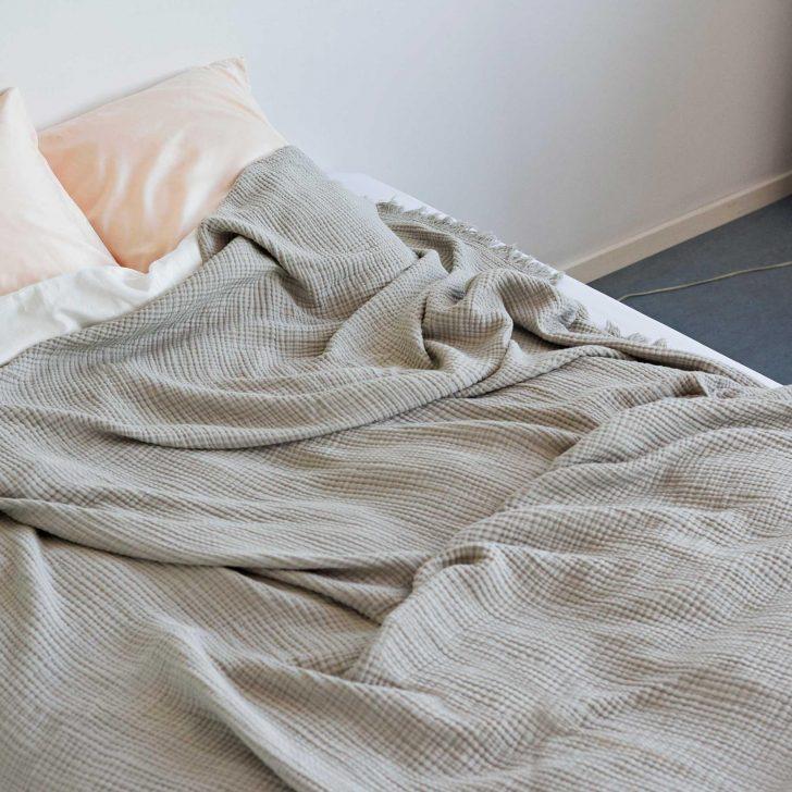 Medium Size of Tagesdecke Bett Hay Crinkle Bettberwurf 270x270cm Ambientedirect 200x200 Mit Bettkasten Chesterfield Prinzessinen Stabiles 220 X 120x200 Romantisches Billige Bett Tagesdecke Bett