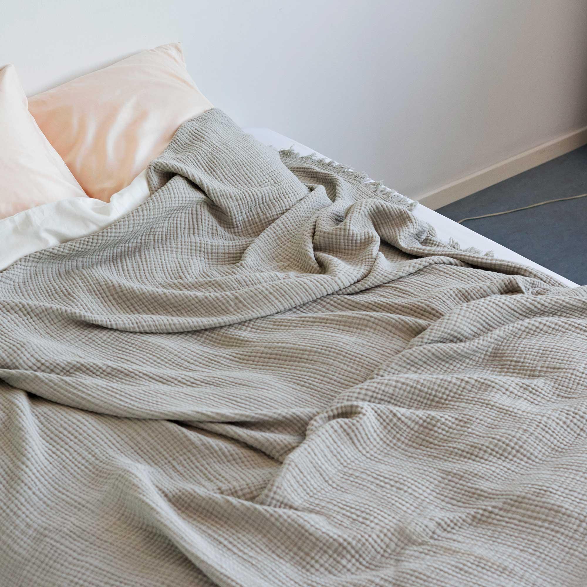 Full Size of Tagesdecke Bett Hay Crinkle Bettberwurf 270x270cm Ambientedirect 200x200 Mit Bettkasten Chesterfield Prinzessinen Stabiles 220 X 120x200 Romantisches Billige Bett Tagesdecke Bett