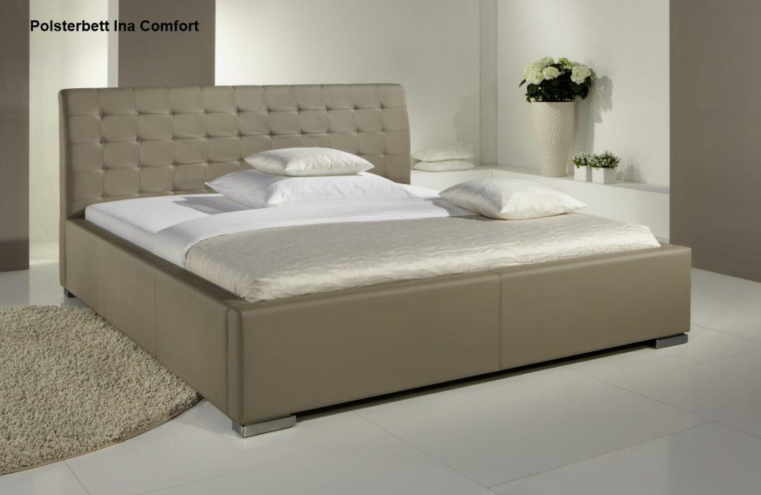 Large Size of Betten Günstig Kaufen Leder Bett Polsterbett Lederbett Doppelbett Ehebett Ina In Farbe Weiße Amerikanische Küche Günstiges Schöne Luxus Landhausstil Coole Bett Betten Günstig Kaufen