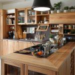 Holzküche Küche Alte Holzküche Aufpeppen Holzküche Mit Schwarzer Arbeitsplatte Holzküche Entfetten Holzküche Rustikal