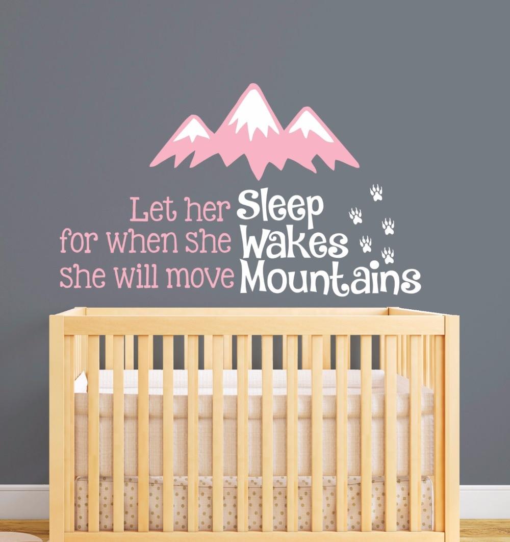 Full Size of Nordischen Stil Berge Zitate Wandaufkleber Baby Schlafzimmer Teppich Stuhl Für Komplett Günstig Wandtattoo Sprüche Massivholz Wohnzimmer Günstige Gardinen Schlafzimmer Schlafzimmer Wandtattoo