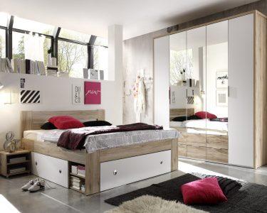 Komplett Schlafzimmer Günstig Schlafzimmer Komplett Schlafzimmer Günstig Conny Eiche San Remo Weiss Set Mit Matratze Und Lattenrost Badezimmer Regal Küche Elektrogeräten Betten Kaufen Wohnzimmer
