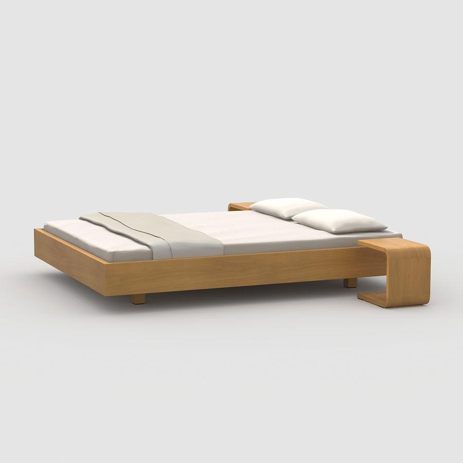 Full Size of Einfaches Bett Eiche 3d Modell 4 Mafb3ds Mit Bettkasten 90x200 Massiv 180x200 Kinder Betten Bette Floor Zum Ausziehen Amerikanisches Lattenrost Landhausstil Bett Einfaches Bett
