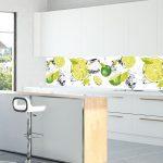 Fliesenspiegel Küche Glas Küche Kchenrckwnde Und Arbeitsplatten Aus Glas Glasmanufaktur Küche Einrichten Hängeschränke Ohne Spülbecken Eiche Vorratsdosen Kinder Spielküche Industrielook