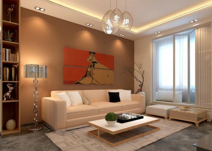 Beleuchtung Wohnzimmer Spots Indirekte Led Decke Selber Bauen Leiste Ebay Boden Mit Wand Wieviel Lumen Tipps Ideen Wohnzimmerschrank Indirekt