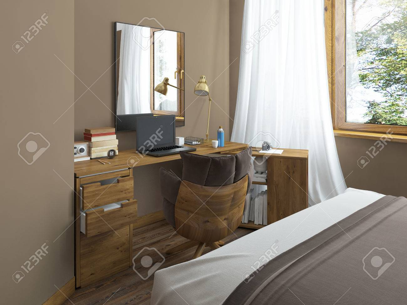 Full Size of Massivholz Schlafzimmer Schreibtisch In Einem Rauch Betten Teppich Luxus Günstige Komplett Set Weiß Schränke Wandtattoo Esstisch Regal Guenstig Nolte Schlafzimmer Massivholz Schlafzimmer