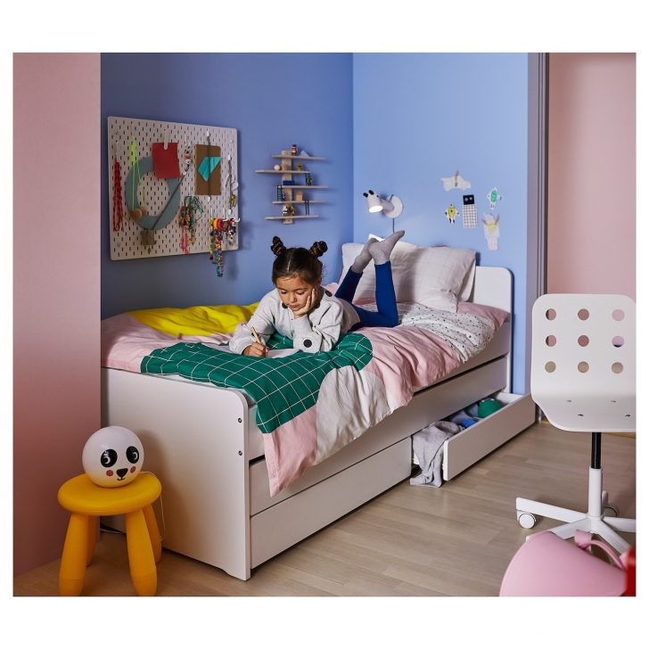 Medium Size of Bett Mit Unterbett Slkt Bettgestell Betten Bei Ikea Boxspring Hohes Kopfteil Gepolstertem 90x200 Lattenrost Und Matratze Wohnwert Grau Weiß 160x200 Sofa Bett Bett Mit Unterbett