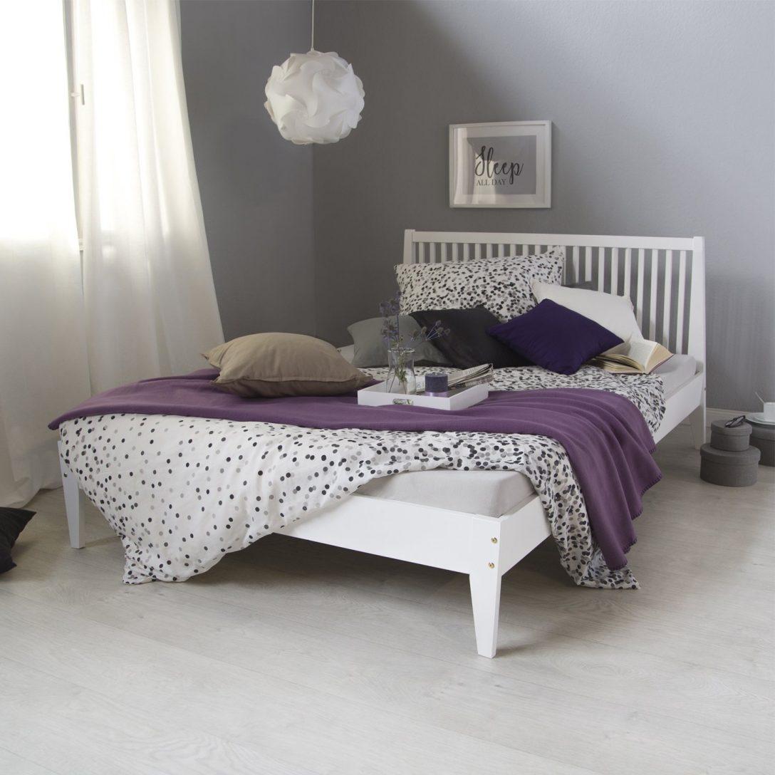 Large Size of Homestyle4u 1844 Bett Breit Günstige Betten Xxl Weißes 140x200 Schwarzes 160x200 überlänge Schlafzimmer Ruf Bopita Ohne Füße Futon Kopfteil 90x200 Mit Bett Weißes Bett 140x200