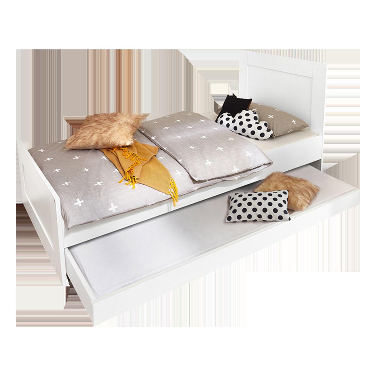 Full Size of Rhr Bush Kinderbett Wei Liegenbett Ausziehbar Jugendzimmer Bett Günstig Kaufen Massivholz Kiefer 90x200 Jugend Betten Designer Wickelbrett Für Ebay 180x200 Bett Bett Ausziehbar
