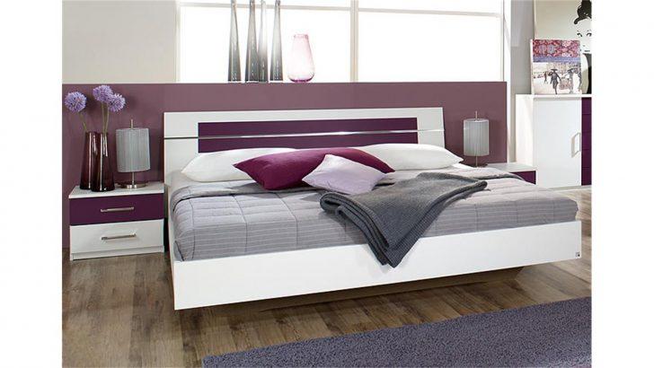 Medium Size of Bettanlage Burano In Wei Und Brombeer Bett 180x200 2 Nakos Ausgefallene Betten Bei Ikea Eiche Mit Lattenrost Matratze Massiv Weiß 160x200 140x200 Musterring Bett Bett Weiss
