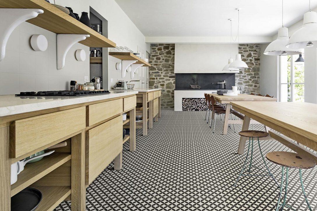 Large Size of Fliesen Für Küche Groß Fliesen Betonoptik Küche Küche Bodenbelag Küche