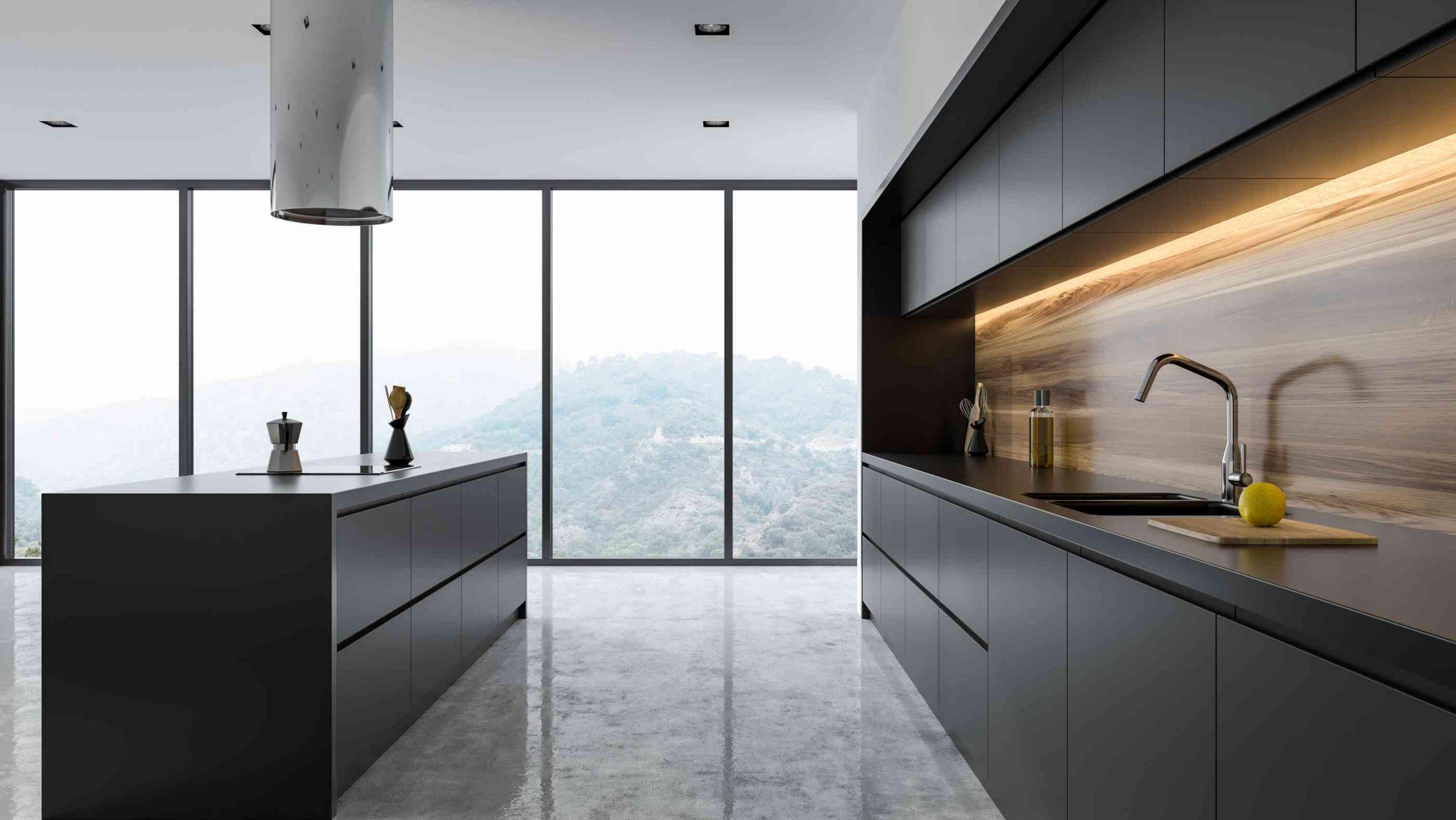 Full Size of Bodenbelag Küche Beton Bodenbelag Küche Estrich Boden Für Küche Und Esszimmer Küchenboden Schwarz Küche Bodenbelag Küche