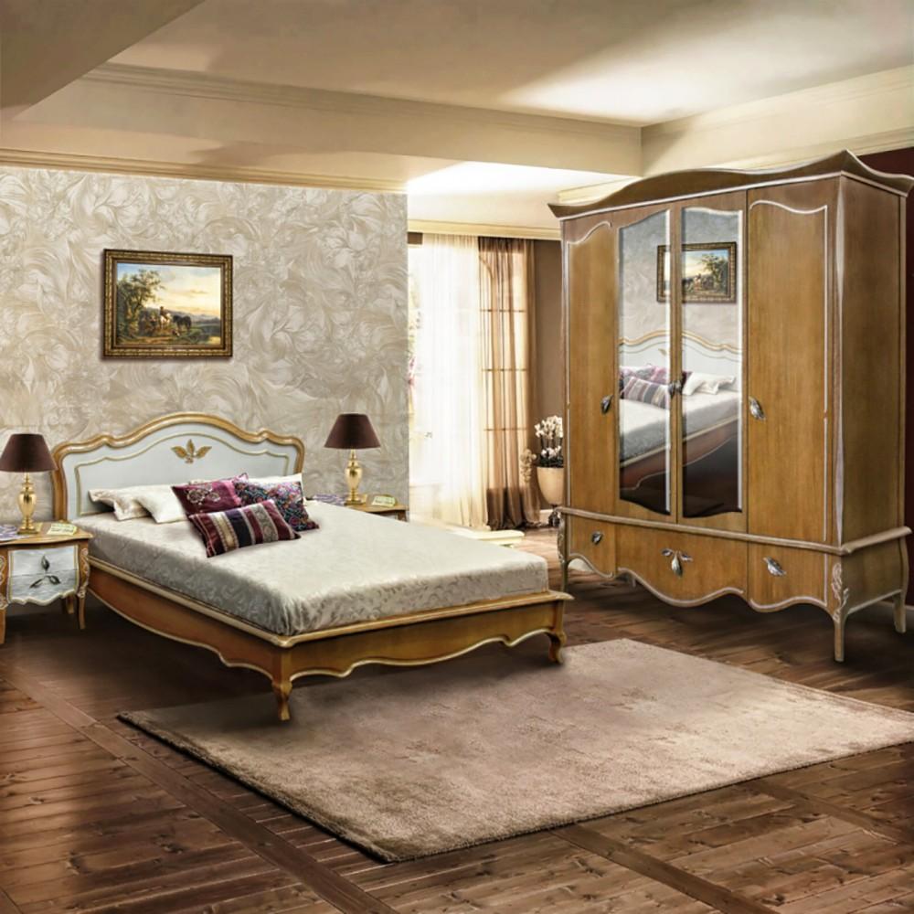 Full Size of Schlafzimmer Massivholz Teresa Romantisches Schlafzimmermbel Im Rokoko Stil Schimmel Stuhl Deckenleuchte Modern Komplette Teppich Betten Deckenleuchten Schlafzimmer Schlafzimmer Massivholz