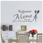 Wandsticker Küche Wandtattoo Restaurant Mama Liebe Wandaufkleber Kche Essen Kaffee Ohne Elektrogeräte Deckenleuchte L Form Mit Elektrogeräten Günstig Küche Wandsticker Küche