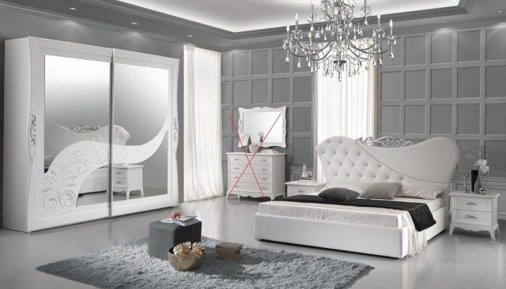 Medium Size of Luxus Schlafzimmer Gisell In Weiss Edel 180x200 Cm Set Mit Boxspringbett Wandleuchte Massivholz Matratze Und Lattenrost Led Deckenleuchte Rauch Kronleuchter Schlafzimmer Luxus Schlafzimmer