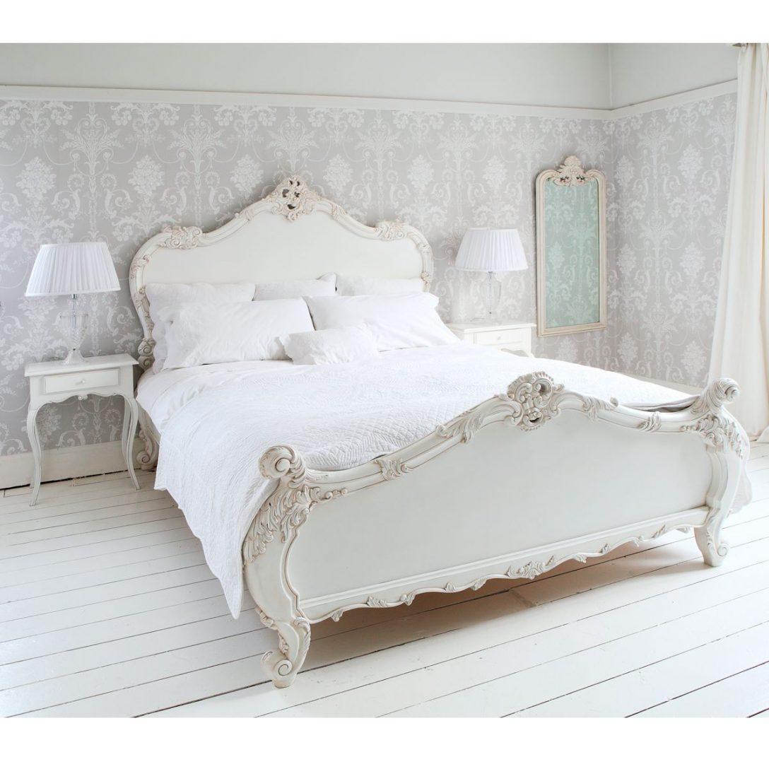 Large Size of Französische Betten New Provencal Sassy White French Bed Beds Ruf Preise De Ikea 160x200 Paradies Günstige Antike München Mit Bettkasten Breckle Nolte Bett Französische Betten