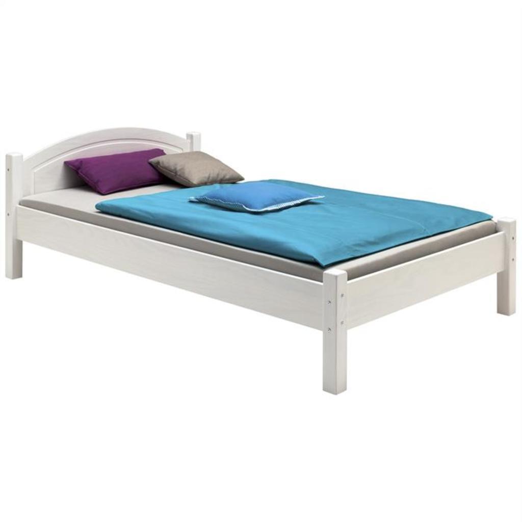Full Size of Bett Weiß 120x200 Holzbett Marie Halbhohes Weißes 90x200 Ruf 180x200 Amazon Betten Hohes Eiche Schramm Mit Aufbewahrung Bett Bett Weiß 120x200