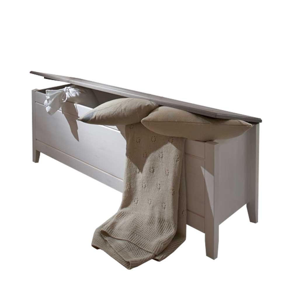 Full Size of Schlafzimmer Truhe Caneon In Wei Grau Kiefer Massivholz Nolte Deckenleuchte Weißes Günstig Komplett Vorhänge Kronleuchter Weiß Teppich Gardinen Für Set Schlafzimmer Truhe Schlafzimmer