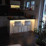 Hums Baublog Indirekte Led Beleuchtung Der Kche Mit Loxone Eckunterschrank Küche Einbauküche Selber Bauen Vorratsdosen Weiß Hochglanz Gebraucht Wohnzimmer Küche Led Beleuchtung Küche