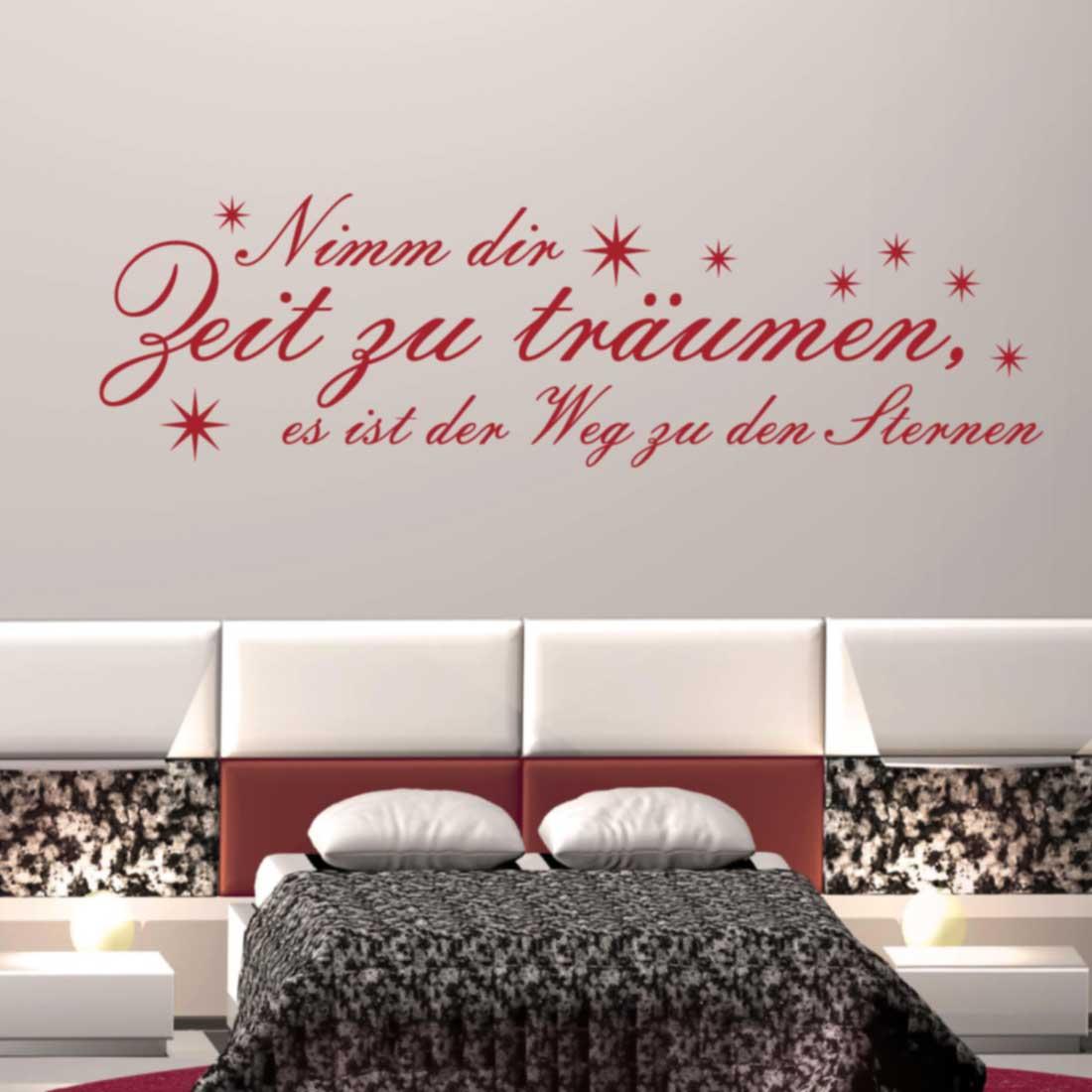 Full Size of Schlafzimmer Nimm Dir Zeit Zu Trumen Landhaus Landhausstil Weiß Kommode Loddenkemper Rauch Teppich Schranksysteme Komplett Günstig Deckenleuchte Deko Schlafzimmer Wandtattoos Schlafzimmer
