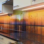 Rückwand Küche Glas Küche Rückwand Küche Glas Kchenrckwand Mit Sonnenuntergang Motiv Youtube Keramik Waschbecken Läufer Esstisch Schwingtür Alno Segmüller Apothekerschrank