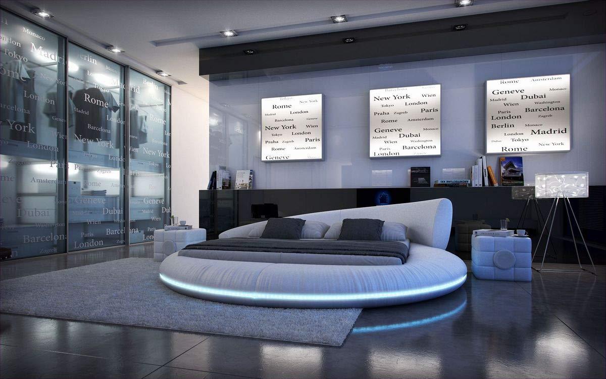 Full Size of Bett 220 X Sofa Dreams Design Rundbett Mezzo Mit Led Beleuchtung 180 200 Cm Dormiente Japanische Betten Luxus Flexa Box Spring 100x200 Hotel Phönix Bad Bett Bett 220 X 220