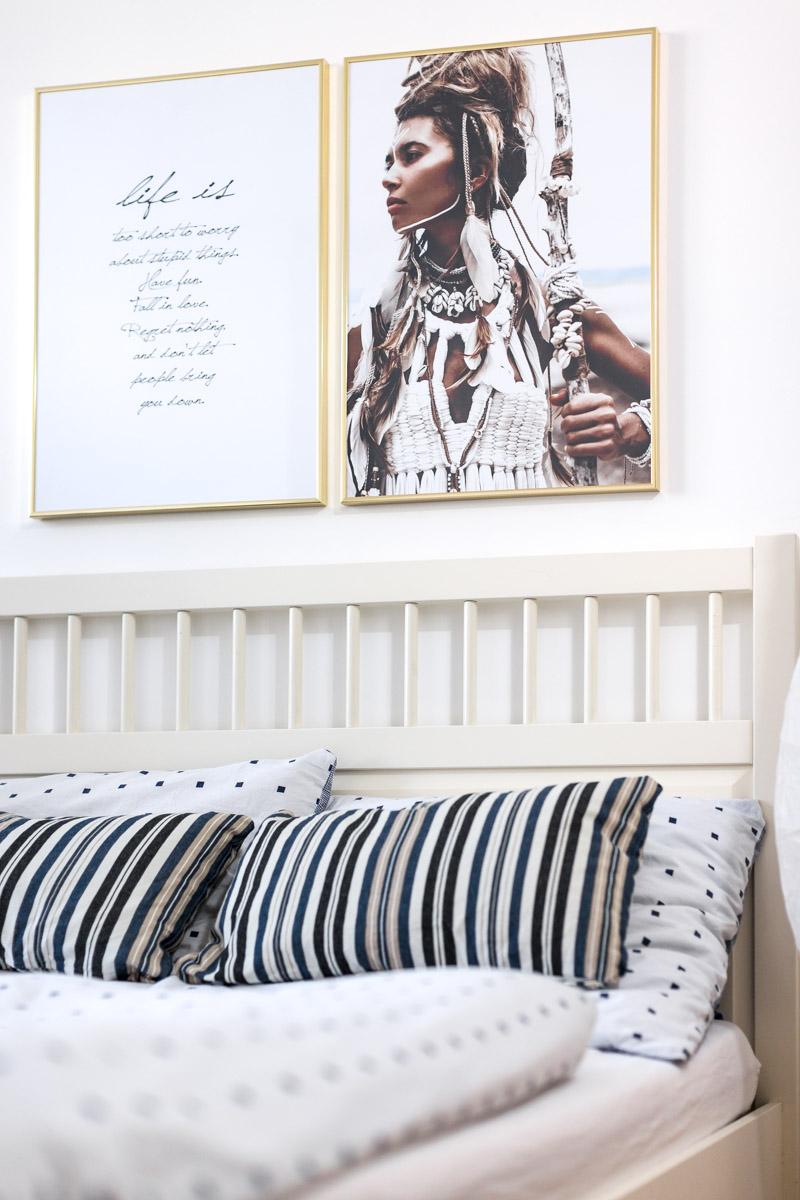 Full Size of Interior Update Unser Schlafzimmer Shades Of Ivory Truhe Komplett Poco Wandlampe Luxus Schränke Weiss Weißes Mit Lattenrost Und Matratze Rauch Eckschrank Schlafzimmer Wandbilder Schlafzimmer