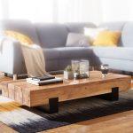 Wohnzimmer Tisch Wohnzimmer Couchtisch Soron 130x25x59cm Akazie Massivholz Metall Sofatisch Design Wohnzimmertisch Modern Stubentisch Braun Schwarz Designer Kaffeetisch Esstische Rund