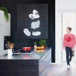 Wandbelag Küche Schne Wandarbeit Wandbelge Huser Modernisieren Unterschränke Outdoor Edelstahl Schnittschutzhandschuhe Singleküche Weiß Hochglanz Bank Küche Wandbelag Küche