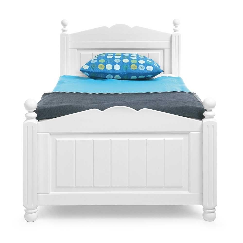 Full Size of Bett Mit Ausziehbett Weies Einzelbett In 90x200 100x200 120x200 Esstisch Rund Stühlen Fenster Eingebauten Rolladen Liegehöhe 60 Cm Ausgefallene Betten Zum Bett Bett Mit Ausziehbett