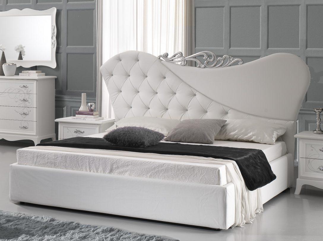 Large Size of Betten Weiß Doppeltbett Gisell In Weiss Edel Luxus Bett Ohne Lattenrost Weißes Regal Günstig Kaufen 180x200 Bad Hochschrank Schlafzimmer Bei Ikea Schramm Bett Betten Weiß