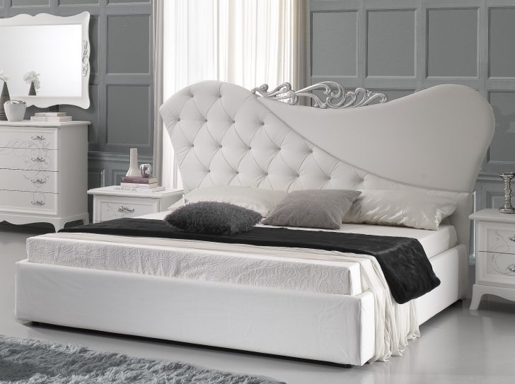 Betten Weiß Doppeltbett Gisell In Weiss Edel Luxus Bett Ohne Lattenrost Weißes Regal Günstig Kaufen 180x200 Bad Hochschrank Schlafzimmer Bei Ikea Schramm Bett Betten Weiß
