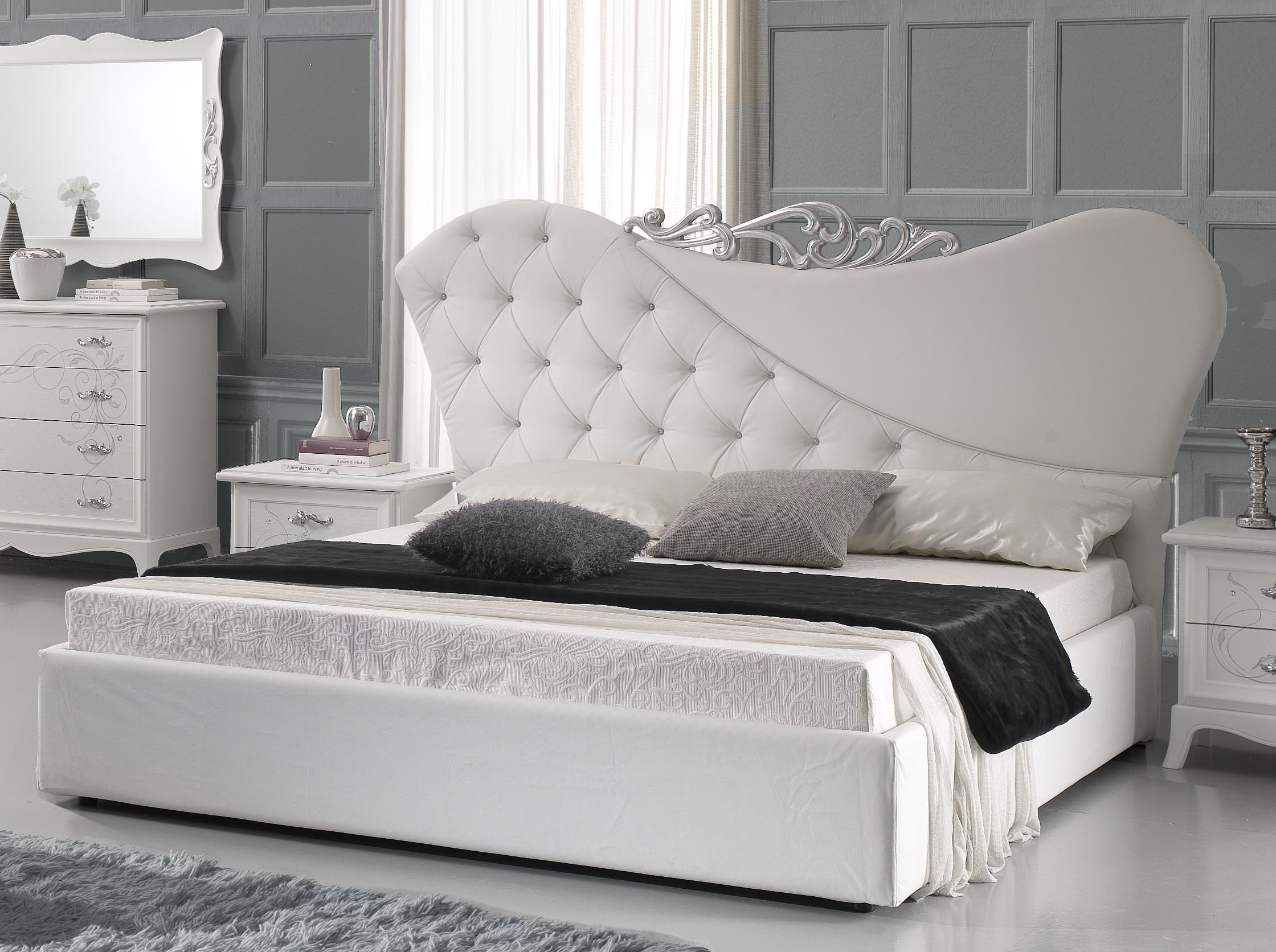 Full Size of Betten Weiß Doppeltbett Gisell In Weiss Edel Luxus Bett Ohne Lattenrost Weißes Regal Günstig Kaufen 180x200 Bad Hochschrank Schlafzimmer Bei Ikea Schramm Bett Betten Weiß