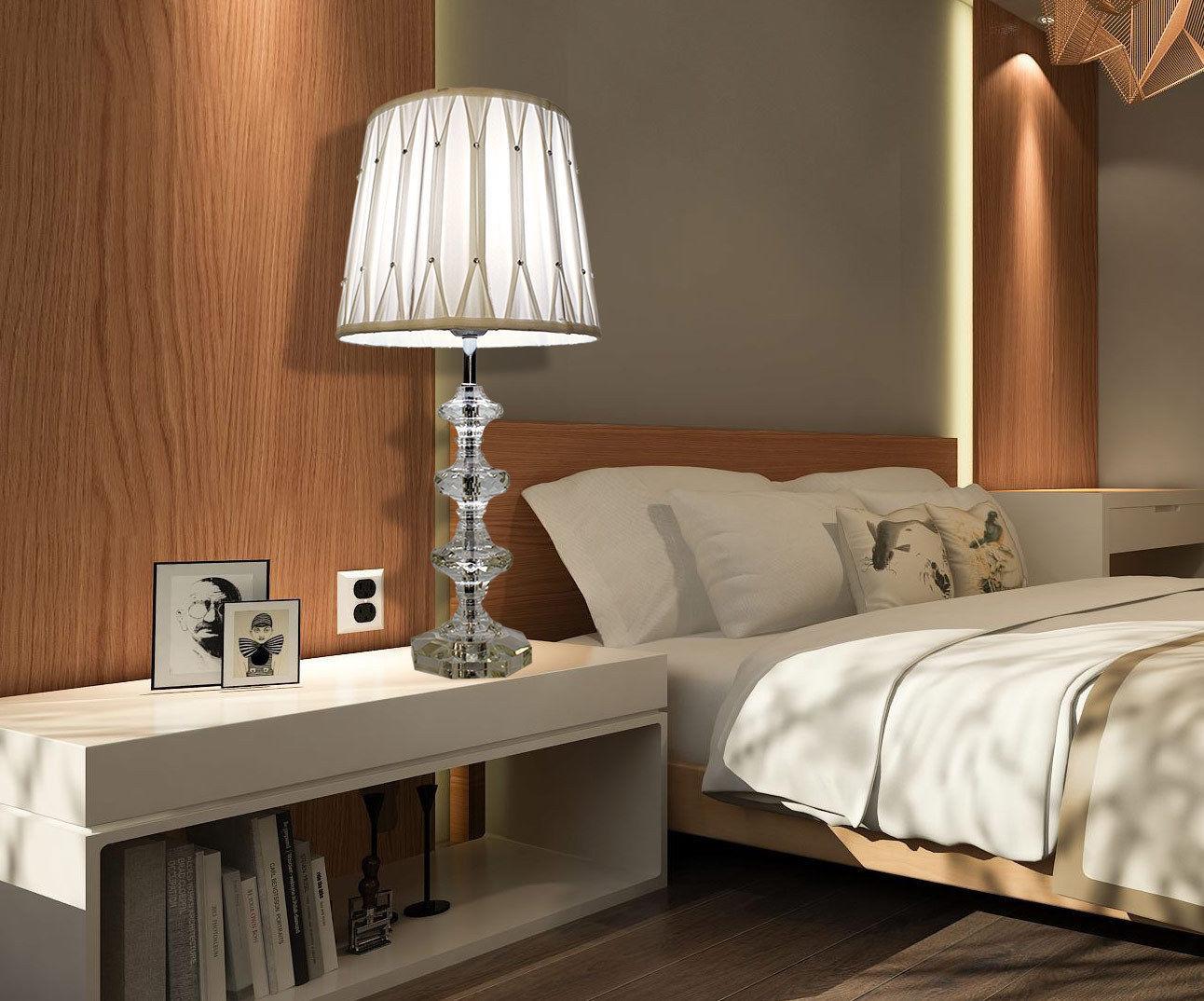 Full Size of Schlafzimmer Lampe Nachttischlafzimmer Kristall Tischleuchte Schirm Rauch Lampen Esstisch Designer Luxus Landhaus Badezimmer Decke Mit überbau Wandlampe Schlafzimmer Schlafzimmer Lampe