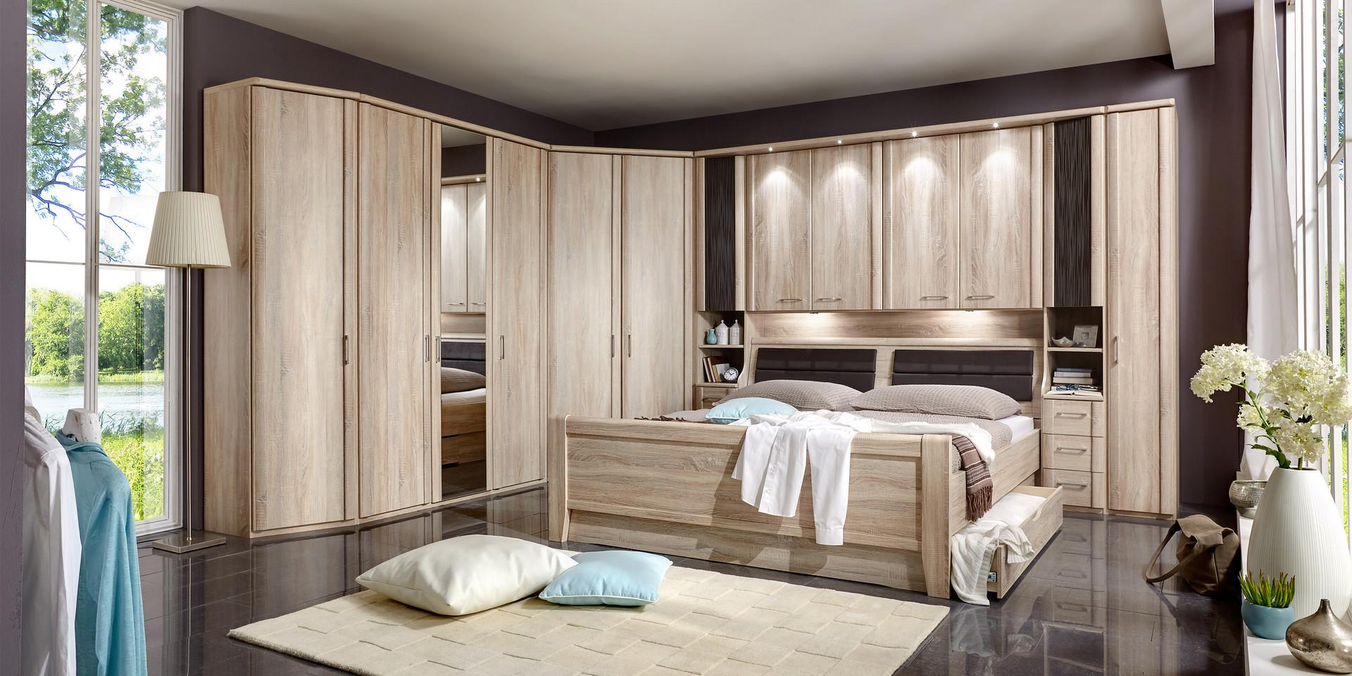 Full Size of Schlafzimmer Mit überbau Erleben Sie Das Luxor 3 4 Mbelhersteller Wiemann Wandtattoo Bett Ausziehbett Set Matratze Und Lattenrost 2 Sitzer Sofa Relaxfunktion Schlafzimmer Schlafzimmer Mit überbau