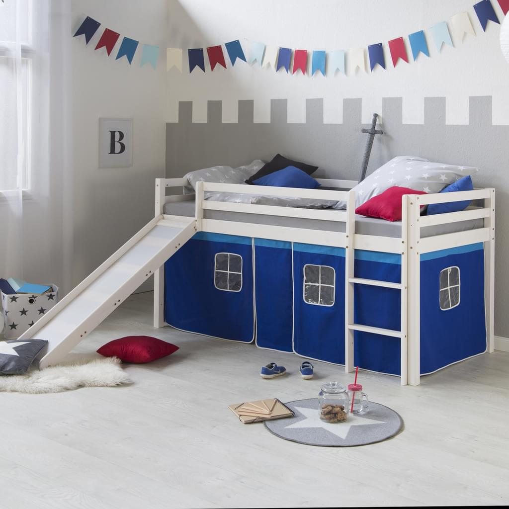 Full Size of Bett Mit Rutsche Homestyle4u 1544 Runde Betten Gepolstertem Kopfteil Bette Badewanne Küche Günstig Elektrogeräten Sofa Relaxfunktion 3 Sitzer Lattenrost Bett Bett Mit Rutsche