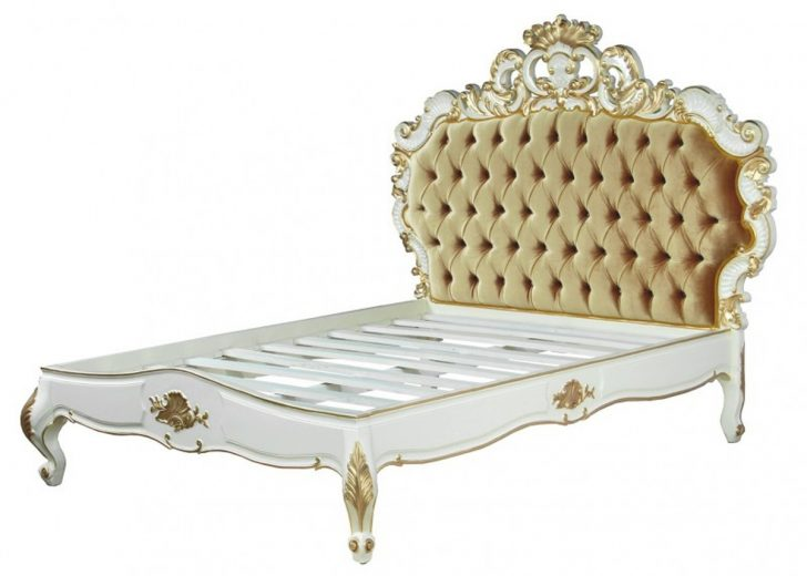 Medium Size of Barock Bett Venice Superior Wei Gold Samtstoff 180 200 Cm Aus Weiß 100x200 Weißes 140x200 Poco Hunde 180x220 Hasena Betten Amazon Hoch Lattenrost Bett Barock Bett