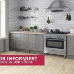 Bodenbeläge Küche Küche Bodenbeläge Küche Designboden In Der Kche Partner Fr Ihren Kchenboden Singleküche Mit Kühlschrank Elektrogeräten Behindertengerechte Läufer Tresen