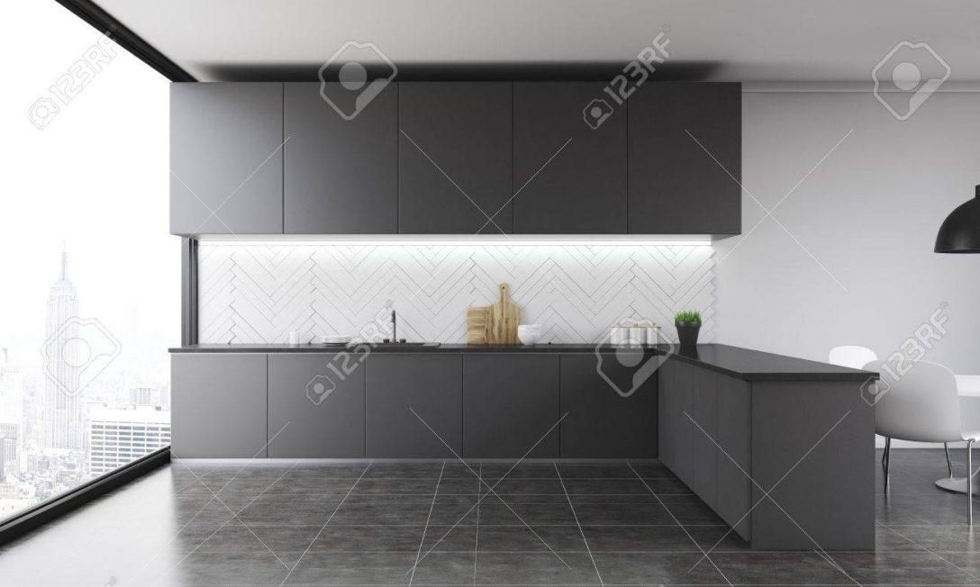Large Size of Kitchen Counter In Modern Home. Küche Deckenleuchte Küche
