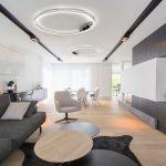 Deckenleuchte Wohnzimmer Design Deckenleuchten Ikea Modern Rund Holz Holzdecke Vintage Schwarz Led Dimmbar Sluce Pro Ring M Oslash 60cm In Chrom Deckenlampe Wohnzimmer Deckenleuchte Wohnzimmer
