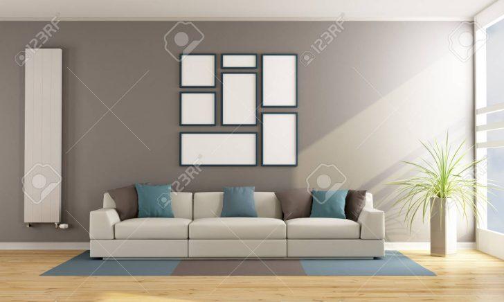 Medium Size of Contemporary Living Room With Sofa Wohnzimmer Heizkörper Wohnzimmer